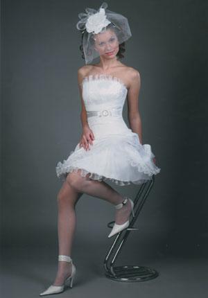 Короткие свадебные платья(3)